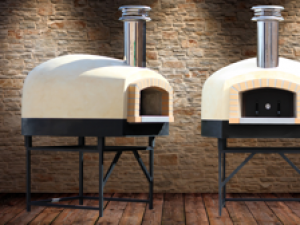 Roma110 D-Series Wood/Gas Pizza Oven 44