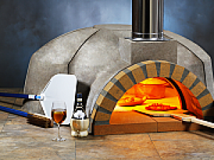 Modena 120 Modular Wood Pizza Oven Kit - 48