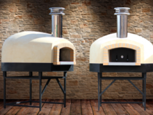 Roma120 D-Series Wood/Gas Pizza Oven 48