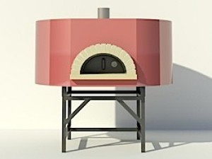 Modena2G160 Wood-Fired Commercial Oven - 56