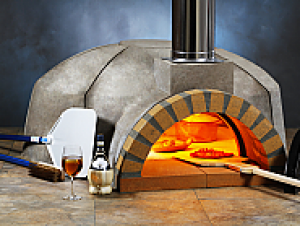Modena 140 Modular Wood Pizza Oven Kit - 56