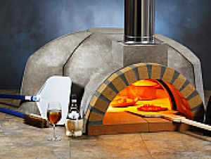 Modena 180 Modular Wood Pizza Oven Kit - 56