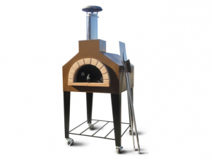 Andiamo 60 Assembled Wood Pizza Oven - 24
