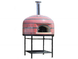 Vesuvio80 Assembled Tiled Oven With Stand - 32
