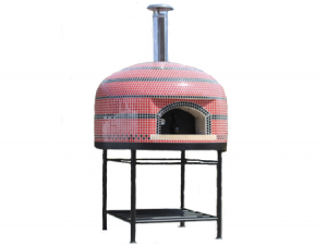 Vesuvio110 Assembled Tiled Oven With Stand - 44