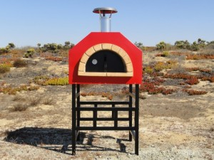 Strada 60 Portable Assembled Pizza Ovens - With Stand
