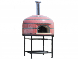 Vesuvio100 Assembled Tiled Oven With Stand - 40