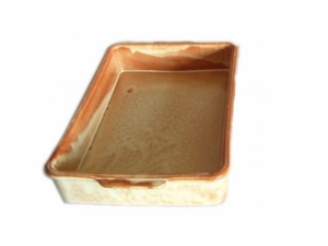 Terracotta Casserole Rectangle 10.5