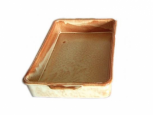 Terracotta Casserole Rectangle 13.5