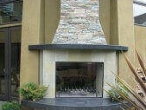 Calore2G75 Outdoor Fireplace Kit – 30″