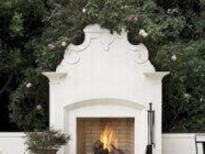 Calore2G105 Outdoor Fireplace Kit – 42″