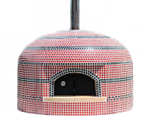 Vesuvio80 Wood//Gas Pizza Oven countertop