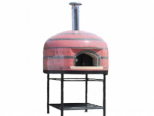 Vesuvio80 Wood/Gas Pizza Oven with stand