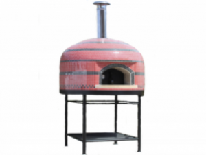 Vesuvio90 Assembled Tiled Oven With Stand - 36