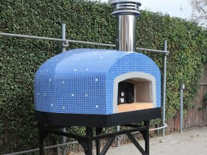 Roma 110 Commercial Pizza Oven Wood/Gas Tiled 44