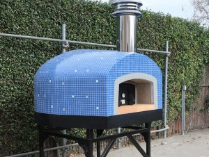 Roma 120 Commercial Pizza Oven Wood Tiled 48
