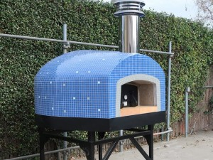 Roma 120 Commercial Pizza Oven Wood/Gas Tiled 48